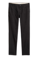 Chinos Slim fit - Negro -  | H&M ES 2