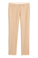 Chino - Slim fit - Lichtbeige - HEREN | H&M BE 2