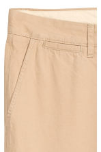 Chino - Slim fit - Lichtbeige - HEREN | H&M BE 4