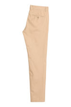 Chino - Slim fit - Lichtbeige - HEREN | H&M BE 3