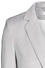 Fitted jacket - Light grey -  | H&M CN 3