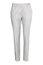 Suit trousers - Light grey - Ladies | H&M 2