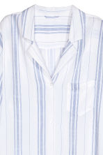 Viscose nightshirt - White/Blue striped - Ladies | H&M 3
