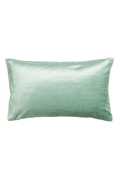 Copricuscino in velluto - Verde nebbia - HOME | H&M IT 1