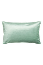 Velvet cushion cover - Dusky green - Home All | H&M CN 1