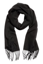 Wool scarf - Black - Men | H&M 1