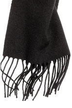 Wool scarf - Black - Men | H&M 2