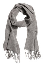 Wool scarf - Grey marl - Men | H&M 1