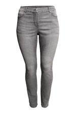 H&M+ 彈性長褲 - Grey denim - Ladies | H&M 3