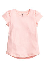 Lot de 2 tops en jersey - Rose clair -  | H&M FR 3