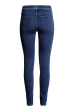 Superstretch-tregging - Donker denimblauw - DAMES | H&M NL 4