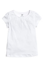 2-pack jersey tops - White -  | H&M 3
