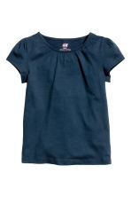2-pack jersey tops - Dark blue - Kids | H&M CN 3