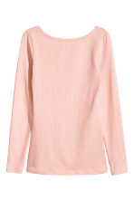 Jersey top - Powder pink - Ladies | H&M 2