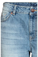 Girlfriend Trashed Jeans - Denimblauw - DAMES | H&M BE 4
