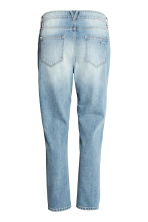Girlfriend Trashed Jeans - Denimblauw - DAMES | H&M BE 3