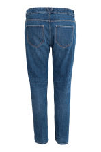 Girlfriend Trashed Jeans - Dark denim blue - Ladies | H&M CN 3