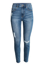 Skinny High Ankle Jeans - Denim blue - Ladies | H&M GB 2