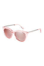 Sunglasses - Transparent/Pink - Ladies | H&M CN 1