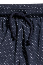 Harem pants - Dark blue/Spotted -  | H&M 4