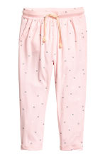 Harem pants - Light pink/Heart -  | H&M CN 2