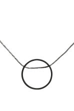 Necklace with a pendant - Black - Ladies | H&M CN 2