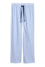 Pantaloni da pigiama in cotone - Azzurro/righine - DONNA | H&M IT 2
