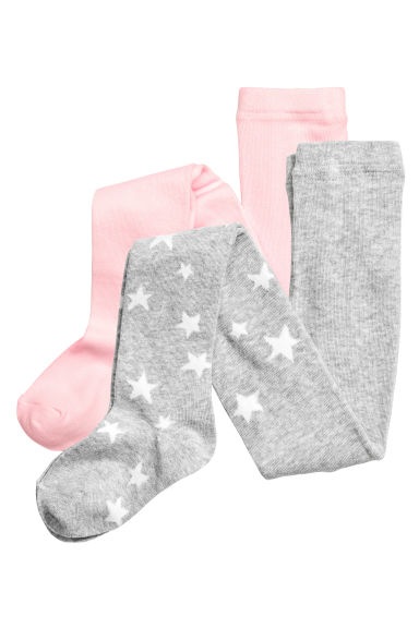 Lot de 2 collants - Rose clair - ENFANT | H&M CH 1