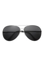 Sunglasses - Silver/Black - Men | H&M CN 2