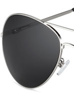 Sunglasses - Silver/Black - Men | H&M CN 3