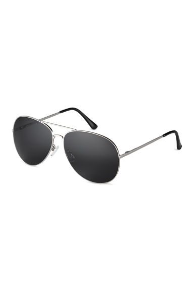 Sunglasses - Silver/Black - Men | H&M CN 1