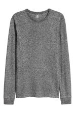 Waffled top - Dark grey marl - Men | H&M 2