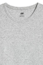 Waffled top - Grey marl - Men | H&M CN 3