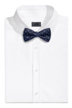 Papillon con fazzoletto - Blu scuro/pois - UOMO | H&M IT 2