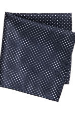 Papillon con fazzoletto - Blu scuro/pois - UOMO | H&M IT 3