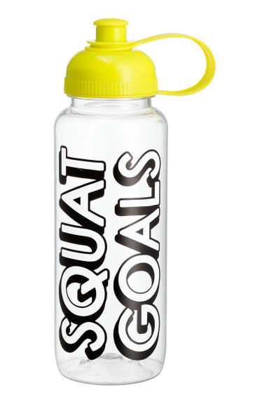 Water bottle - Yellow - Ladies | H&M 1