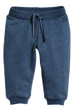 Pantaloni in felpa - Blu scuro mélange -  | H&M IT 1