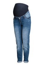MAMA Boyfriend Trashed Jeans - Denim blue - Ladies | H&M CN 2