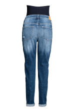 MAMA Boyfriend Trashed Jeans - Denim blue - Ladies | H&M 3