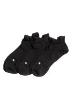 3-pack sports socks - Black - Men | H&M 1