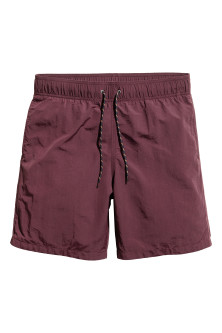 Knee-length swim shorts
