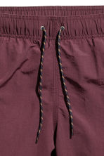 Knee-length swim shorts - Burgundy - Men | H&M 3