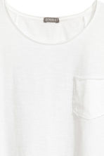 Long T-shirt - White - Men | H&M 3