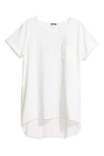 Long T-shirt - White - Men | H&M CN 2
