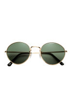 Sunglasses - Gold/Black - Ladies | H&M CN 2