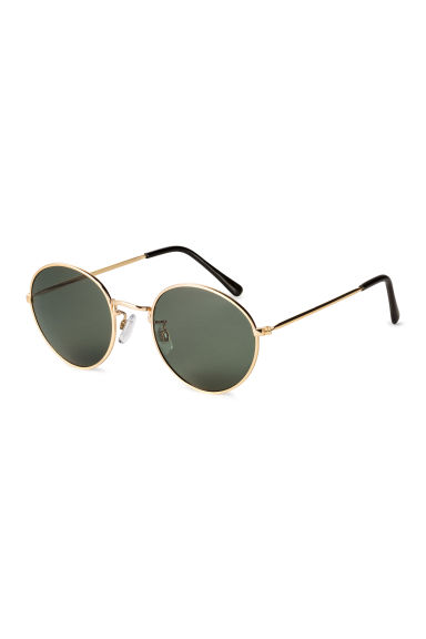 Sunglasses - Gold/Black - Ladies | H&M CN 1