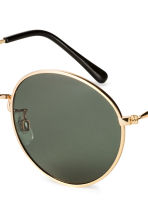 Sunglasses - Gold/Black - Ladies | H&M CN 3
