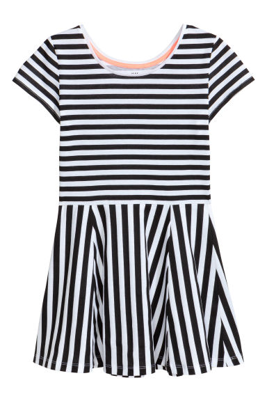 Jersey dress - Black - Kids | H&M CN 1