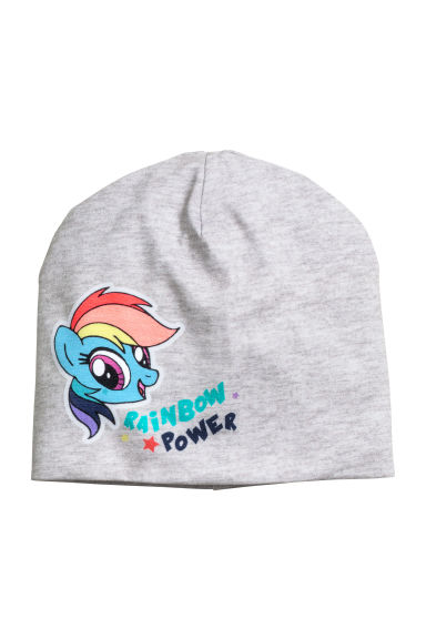 Jersey hat - Grey/My Little Pony - Kids | H&M 1