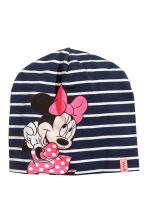 Jersey hat - Dark blue/Minnie Mouse - Kids | H&M 1